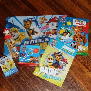 Paw Patrol Activity/Play Bundle of 6 Pieces New